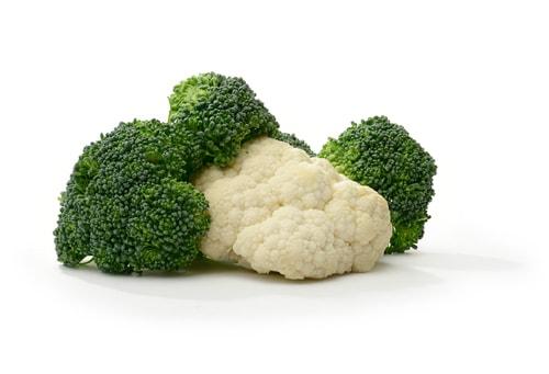 Brocolli en bloemkool