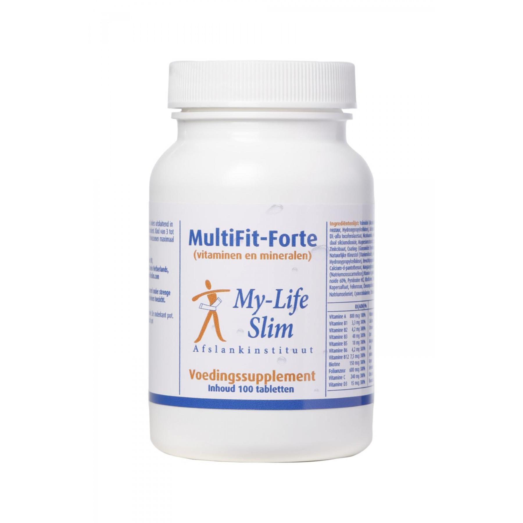 MultiFit-Forte, 100 tabletten