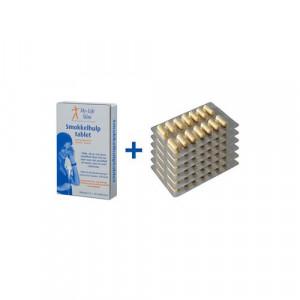Homeset Plus BMI 30 of hoger, 6 strips Restore voor 2 weken, 15 tabletten Smokkelhulptablet