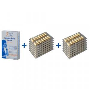 Vakantiepakket BMI 30 of hoger, 12 strips Restore voor 4 weken, 30 tabletten Smokkelhulptablet